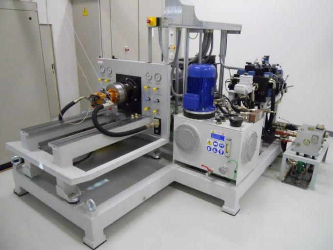 Fprl rig for hydraulic pumps and motors testing Hydraulic motor testing